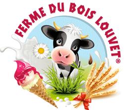 Logo Glaces de la ferme du Bois Louvet