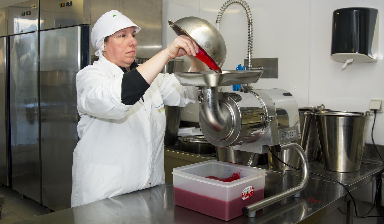 Fabrication de glaces à la ferme Glaces du Bois Louvet Eure Normandie Calvados Honfleur